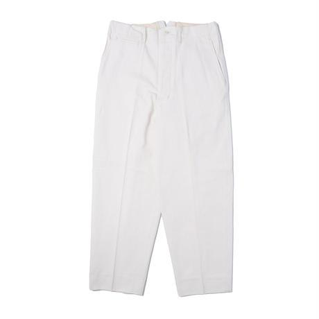 UNITUS(ユナイタス) Center Darts Pants Ivory【UTSSS21-P07】(N)