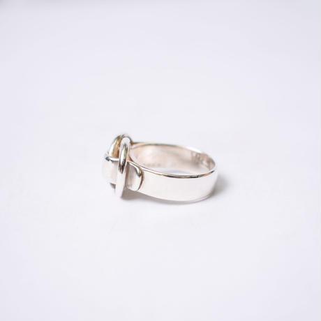 Hermès Vintage(エルメス ヴィンテージ) Deux Anneaux Ring【Hermès ‑ R584】14号(N)