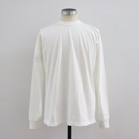 EASTFAREAST(イーストファーイースト) MODEL003 LONG SLEEVE TEE WHITE(N)