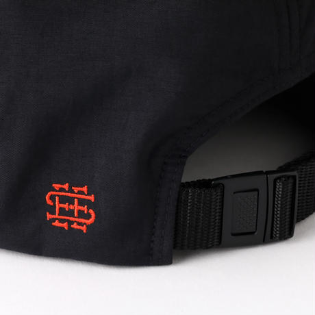 SEE SEE SIMPLE CAP LOGO 刺繍 BLACK