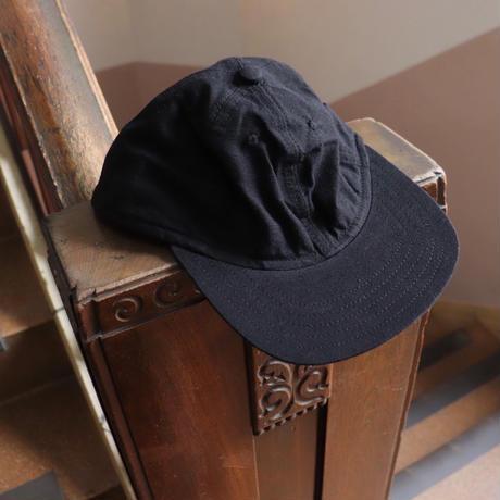 SOWBOW  蒼氓  久留米絣 6 PANEL CAP INK BLACK【SBCA01-1】 (N)