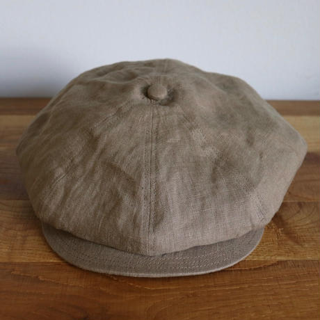 SOLARIS HATMAKERS & Co. CLASSIC CASQUETTE OLDBOY COCOA【SH19SS-08】(N)