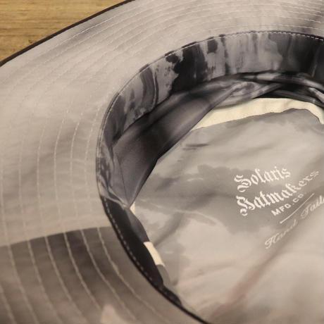 """SOLARIS HATMAKERS & Co. JUNGLE TIEDYE HAT""""COLOMBIAN"""" TIEDYE【20SS01006】(N)"""