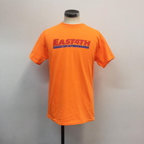 (C) EAST 4TH LOGO TEE(S Orange)