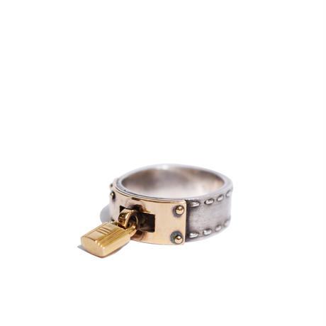Hermès Vintage(エルメス ヴィンテージ)Stering Silver & 18k Gold Ring【SS19-VH08】11.5号(N)