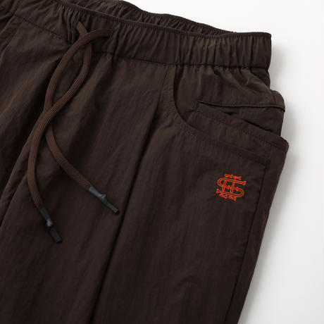SEE SEE TAPERED EASY WIDE PANTS LIMONTA Brown
