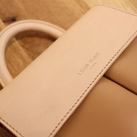 LEON FLAM FEMME(レオンフラム)LEATHER  BAG  VOLTIGE NATUREL