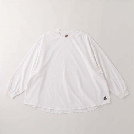 SEE SEE BIG L/S TEE WHITE/NAVY