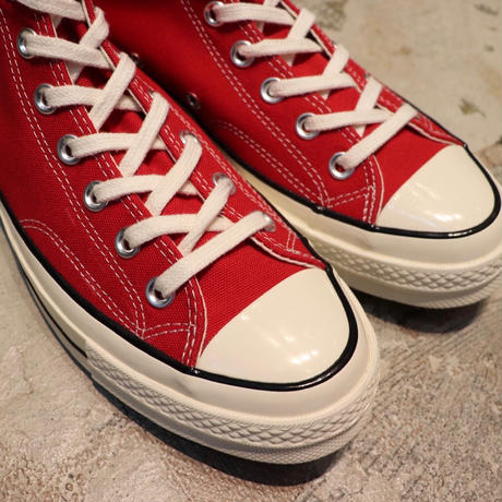 CONVERSE コンバース CHUCK TAYLOR ALL STAR '70-HI ENAMEL RED/EGRET/BLACK 164944C CT70(N)