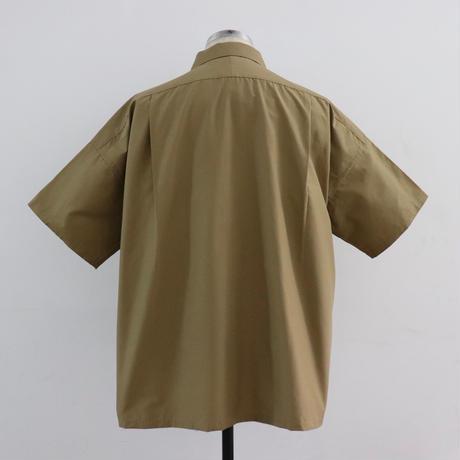 UNITUS(ユナイタス) Open Collar Big Shirt Beige【UTSSS19-S08】(N)