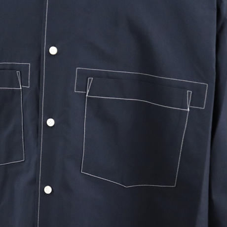 UNITUS(ユナイタス) SS20 Stiched Work Shirt  Navy【UTSSS20-S06】(N)