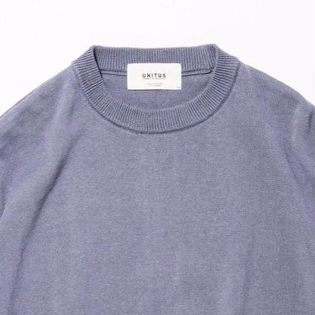 UNITUS(ユナイタス) SS17 S/S Wide Knit Blue
