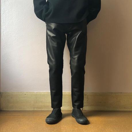 UNITUS(ユナイタス) FW18 Skinny Leather Pant Black【UTSFW18-P03】(N)