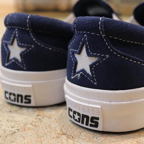 CONVERSE コンバース CONS ONE STAR CC SLIP NAVY/WHITE/WHITE 164156C ヒールスター(N)