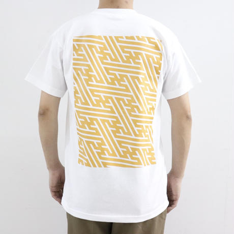 "SOWBOW  蒼氓 ""マギー""Tシャツ WHITE×KARASHI(N)"