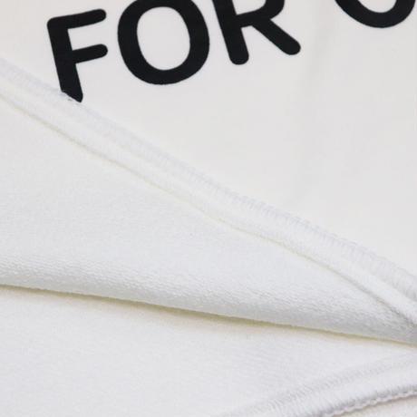 S.F.C  FW20 SWEAT BLANKET WHITE【SFCFW20AC03SP】(N)