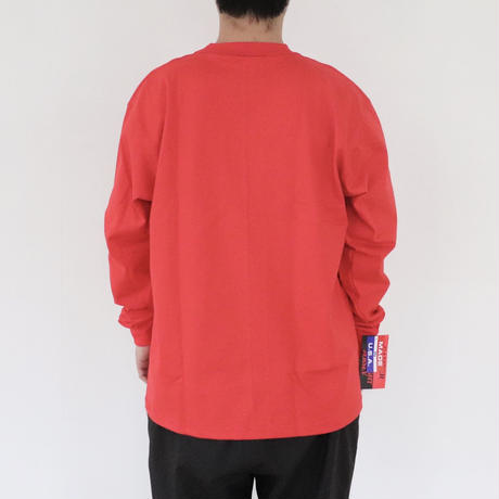 【CAMBER】MAX WEIGHT LONG SLEEVE #305 Red