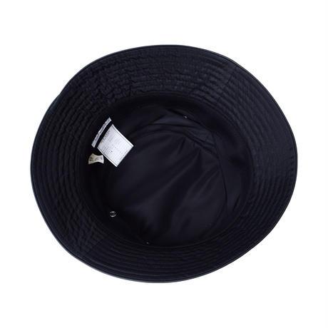 "SOLARIS & Co. NYLON BUCKET HAT ""DAVOUCCI"" BLACK【21SS01010】(N)"