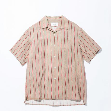UNITUS(ユナイタス) SS17 Aloha Shirts Red Stripe