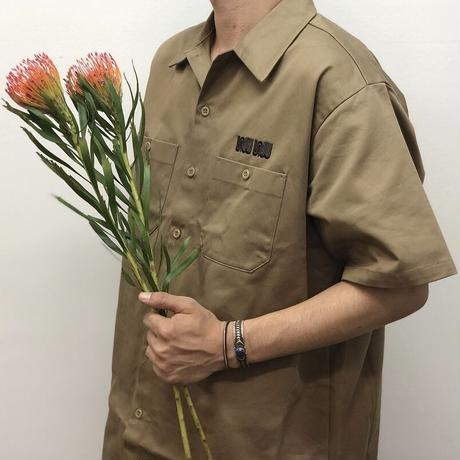 SEE SEE  BIG WORK SHIRT BEIGE STUDY SHOWROOM STORE 限定カラー(N)