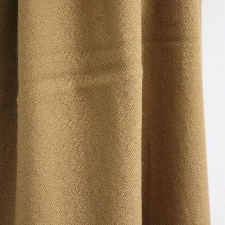 loomer ルーマー Wool Silk Stole Mustard【PR18AW-ST007-1】