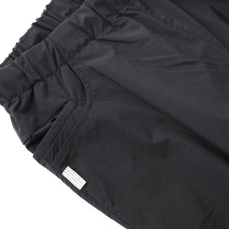 S.F.C  SS21  TAPERED EASY PANTS NYLON Black【SFCSS21P01】(N)