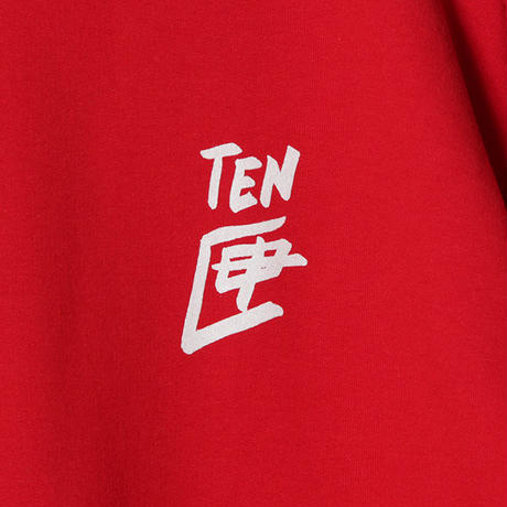 TEN BOX(テンボックス) R TENBOX SWEAT RED