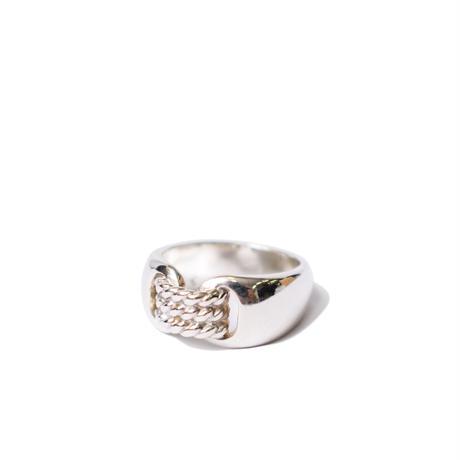 Hermès Vintage(エルメス ヴィンテージ) Suroit Ring【Hermès ‑ R551】11号(N)