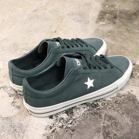CONVERSE CONS ONE STAR PRO OX 166024C DEEP EMERALD/EGRET/EGRET (N)