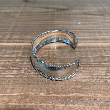 Vintage Sterling Silver Mexican Bangle【SS19-2MJ-2】(N)