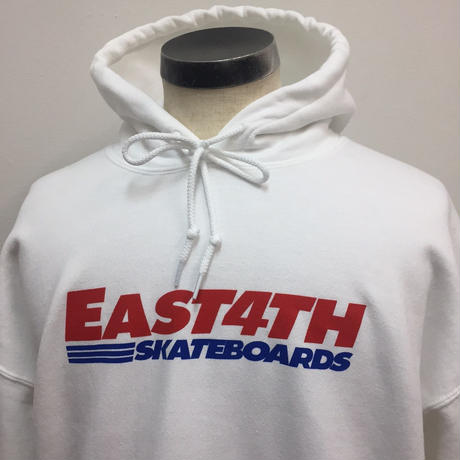 EAST 4th Skate EAST4TH HOODIE White