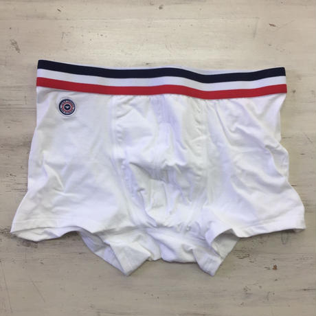 LE SLIP FRANÇAIS(ルスリップフランセ) Permanent Lycra Boxer Briefs【White】