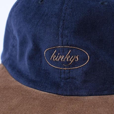 SOLARIS & Co. CORDUROY SPORTS CAP KINKIYS BROWN【21SS01003】(N)