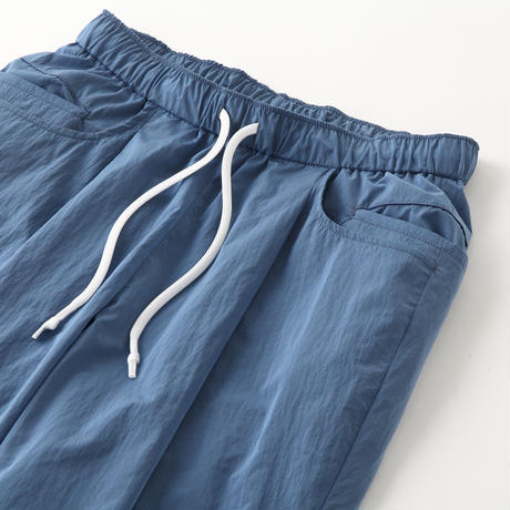 S.F.C TAPERED EASY WIDE PANTS Sax Blue【SFCFW21P02】(N)