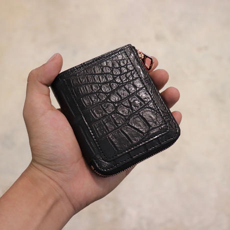 ITTI イッチ WLT-001-G CRISTY VERY COMPACT WLT/croco black(N)