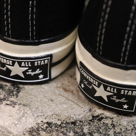CONVERSE コンバース CHUCK TAYLOR ALL STAR '70 SUEDE-HI BLACK/EGRET/EGRET 166216C CT70(N)
