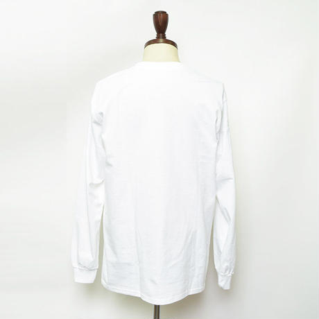 FLAGSTUFF  別注L/S TEE White【19SS-FS 5th-10】