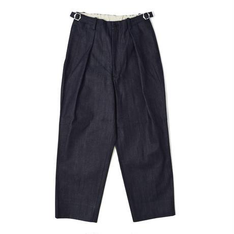 UNITUS(ユナイタス) Wide Tuck Pants (Denim)【UTSFW21-P09JAM】(N)