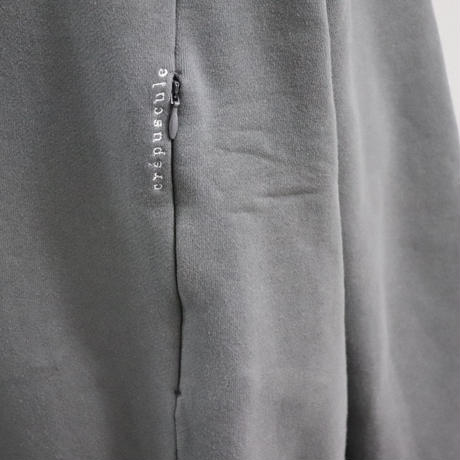 CREPUSCULE クレプスキュール  SWEAT【2001-007】C.Gray