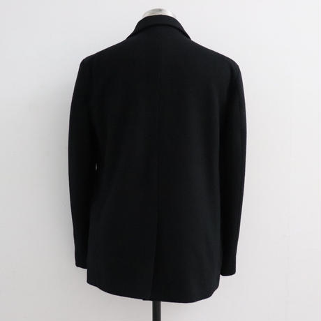 UNITUS(ユナイタス) FW19 Double Breasted Jacket (Wool) Black【UTSFW19-J10】(N)