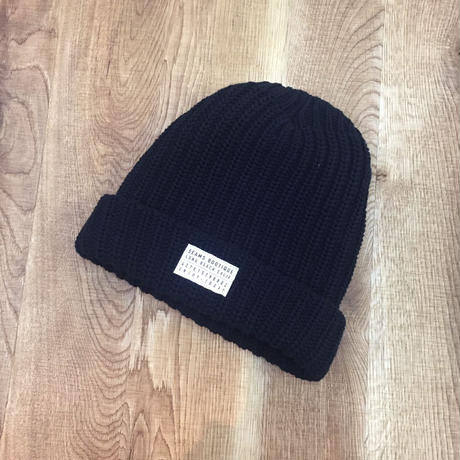 Seams Knit Beanies Black