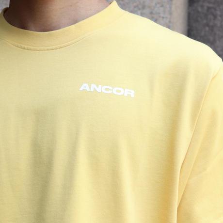 ANCOR(アンカー) T-SHIRTS JAUNE YELLOW
