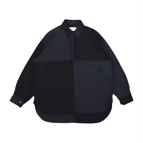 UNITUS(ユナイタス) Paneled Darby Shirt Navy【UTSSS21-S08】(N)