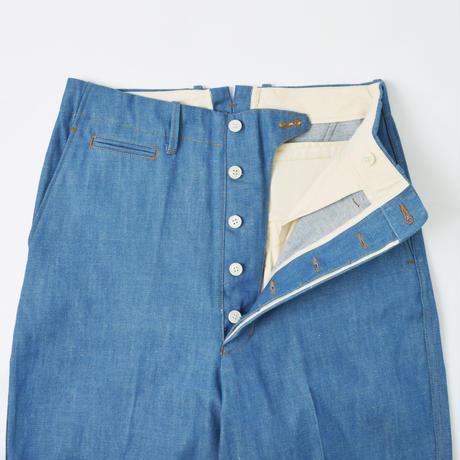 UNITUS(ユナイタス) Center Darts Pants (Denim) Blue【UTSFW21-P06】(N)