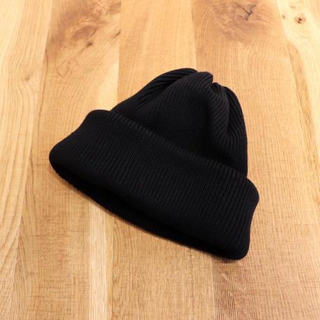 CREPUSCULE クレプスキュール Knit Cap 2  Black【1901-009】(N)