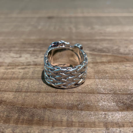 Hermès Vintage(エルメス ヴィンテージ)Stering Silver Ring【19SS_3VH04】(N)