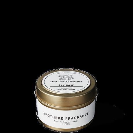 APOTHEKE FRAGRANCE アポテーケ フレグランス TRAVEL TIN CANDLE / 24K Rose(N)