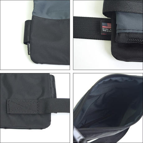 IGNOBLE (イグノーブル)  13004 Eckhardt Folding Clutch-Charcoal