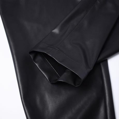 UNITUS(ユナイタス) Eco Leather Baker Easy Pants Black【UTSFW21-P01】(N)