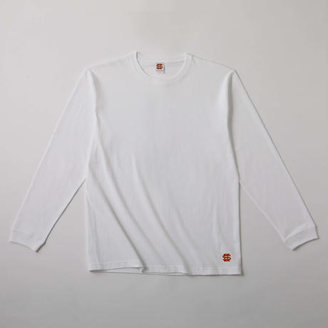 SEE SEE DAILY LOGO L/S TEE  WHITE(N)